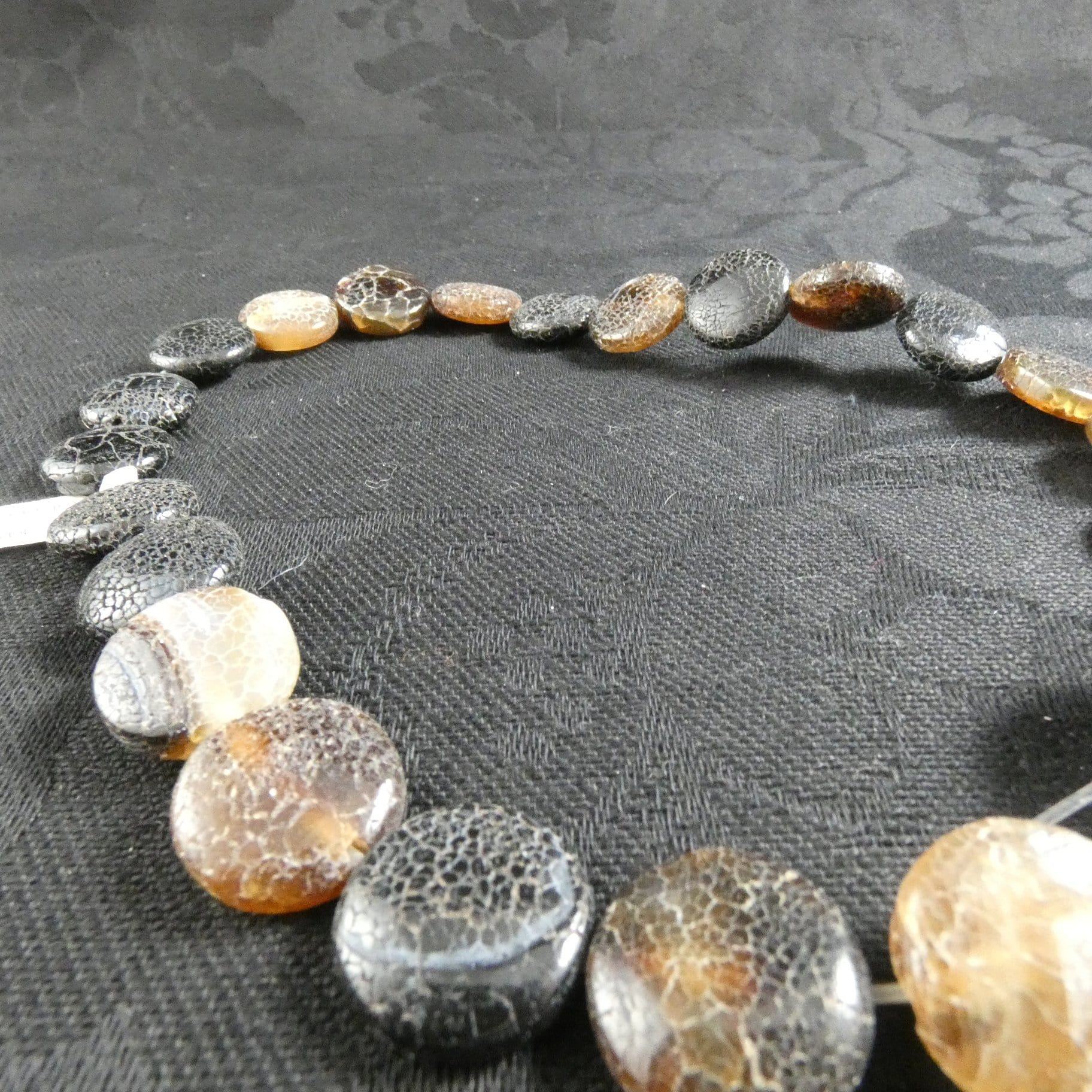Dragon Agate Bead Strand (Single)