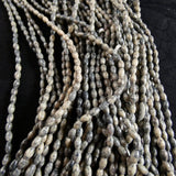 Dyed Gray Marble (5mm) Continuous Bead Strand