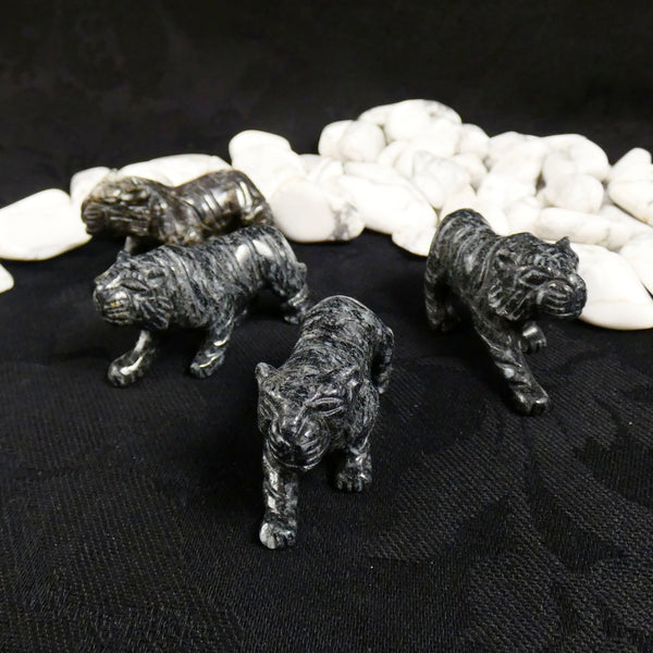 Marble Carved Tiger (small)