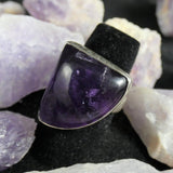 Amethyst Sterling Silver Ring (size 7)