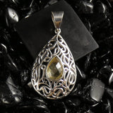 Faceted Citrine Pendant (252)