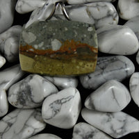 Landscape Jasper Rectangle Pendant