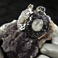 Moonstone in Sterling Silver (oval)