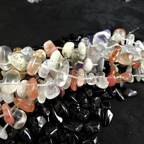 Assorted Quartz Bead Strands(polished pieces)