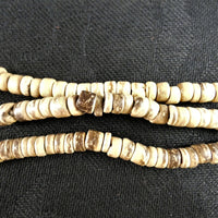 Natural Wood Bead Strands(donut)