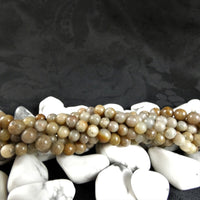 Included Quartz Bead Strands(various)
