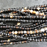 Agate Bead Strands(4mm round)
