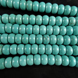 Blue Howlite Bead Strands(various dyed)