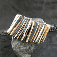 Dual Tone Mother of Pearl Stretch Bracelets (Dyed) (Various)