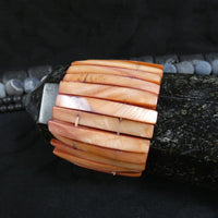 Sienna Mother of Pearl Stretch Bracelets (Dyed) (Various)