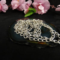 Silver Plated Chain(jewelry making)