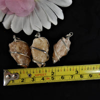 Rough Stone Pendants(various)