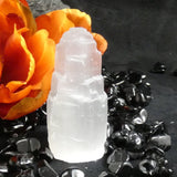 Selenite Tower (6 cm)