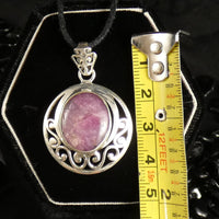 Star Ruby Sterling Silver Pendant (775)