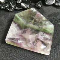 Fluorite Free-Form Polished Slabs (44-52 g) (Various)