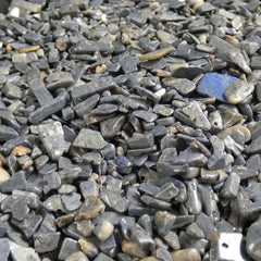 Rough Sapphire Tumbled Chips (½ lb)