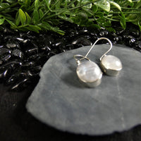 Moonstone Earrings in Sterling Silver (various)