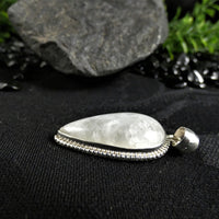 Moonstone Pendant in Sterling Silver(various)
