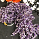 Crystal Amethyst Tumbled Chip Beads (various)