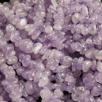 Lilac Amethyst Ream - Tumbled Chip Beads (various)