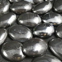 Polished Psilomelane Cabochons (Singles & 5 Packs) (various)