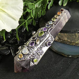 Amethyst Chakra Wand (Double Terminated) (various)