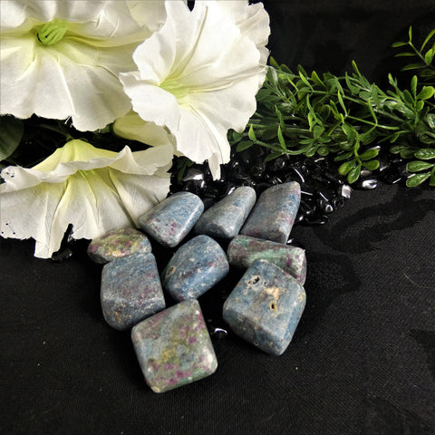 Ruby Fuchsite Polished Stones(various)