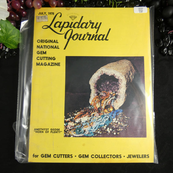 Vintage Lapidary Journal (July 1978)