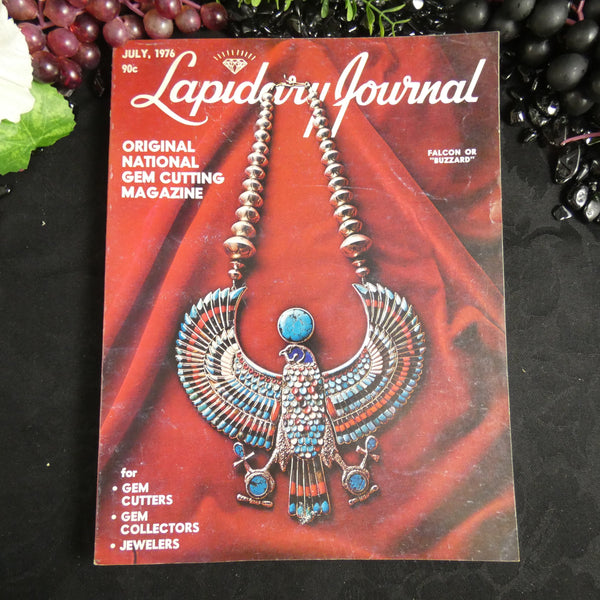 Vintage Lapidary Journal (July 1976)