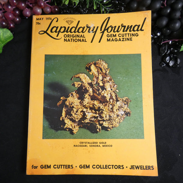Vintage Lapidary Journal (May 1976)