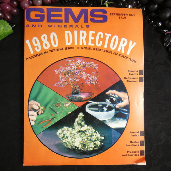 Vintage Gems and Minerals Magazine (September 1979)