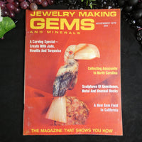 Vintage: Jewelry Making Gems and Minerals (November 1979)