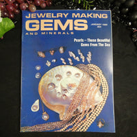 Vintage: Jewelry Making Gems and Minerals (January 1980)