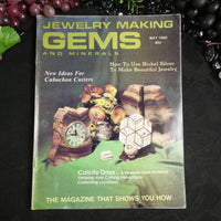 Vintage: Jewelry Making Gems and Minerals (May 1980)