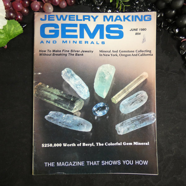 Vintage: Jewelry Making Gems and Minerals (June 1980)