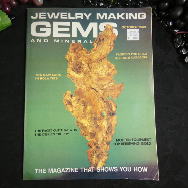 Vintage: Jewelry Making Gems and Minerals (October 1980)