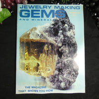 Vintage: Jewelry Making Gems and Minerals (November 1981)