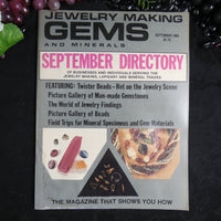 Vintage: Jewelry Making Gems and Minerals (September 1984)