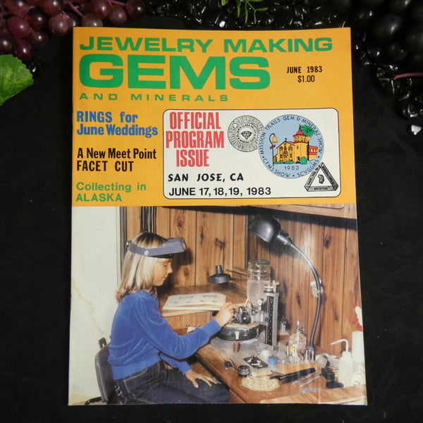Vintage: Jewelry Making Gems and Minerals (June 1983)