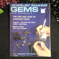 Vintage: Jewelry Making Gems and Minerals (July 1983)