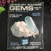 Vintage: Jewelry Making Gems and Minerals (October 1983)