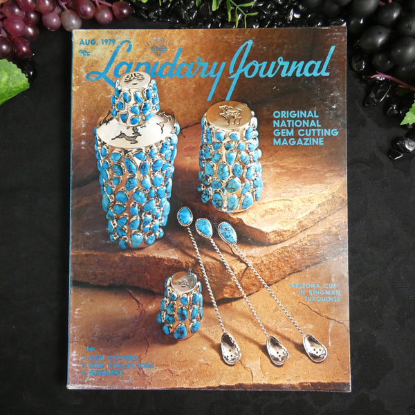 Vintage Lapidary Journal (August 1979)