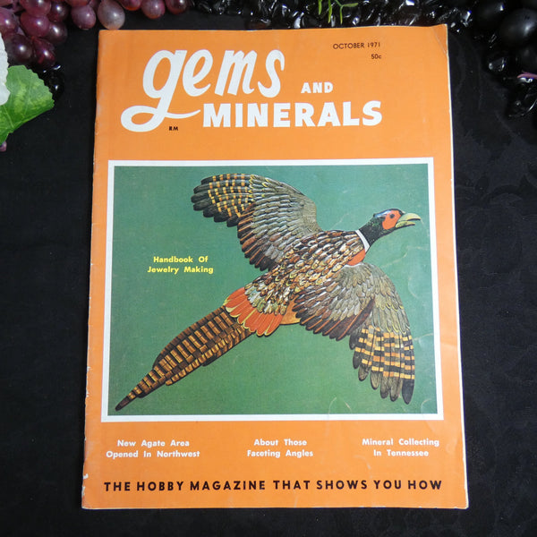 Vintage Gems and Minerals Magazine (October 1971)