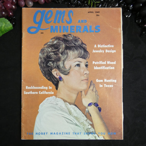 Vintage Gems and Minerals Magazine (April 1969)