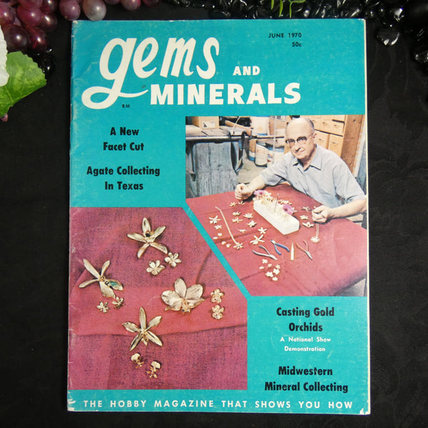 Vintage Gems and Minerals Magazine (June 1970)