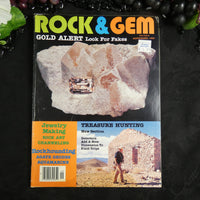 Vintage ROCK & GEM Magazine (September 1983)
