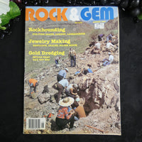 Vintage ROCK & GEM Magazine (August 1983)