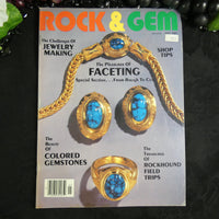 Vintage ROCK & GEM Magazine (May 1985)