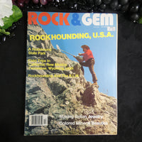 Vintage ROCK & GEM Magazine (October 1984)