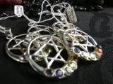Sterling Silver Chakra Pendant (various)